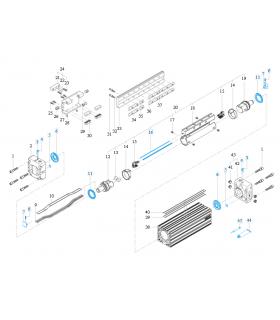 CONECTOR BLZ 5.00/4/90 SN OR WEIDMULLER 1635960000 - Imagen 1