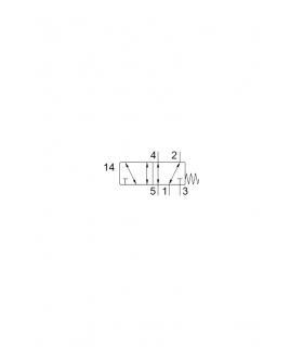 FUSILE NEOZED 400 V, GL/GG, TAMANO D02, SIEMENS 5SE23.. - Imagen 1