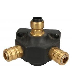 ELECTROVALVULA 5 VIAS MONTAJE EN PLACA BASE Y MONTAJE INDIVIDUAL SYJ3120-5GS-M3-Q SMC - Imagen 1